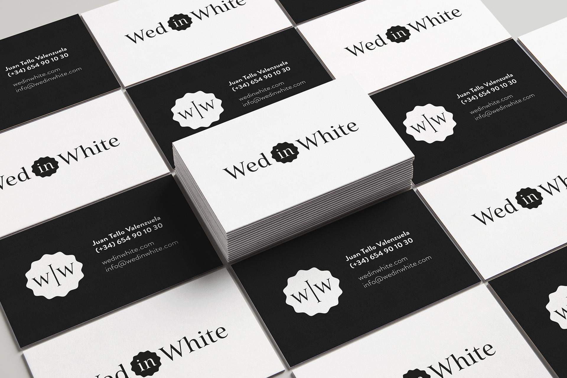 Identidad corporativa WedinWhite - Socioººº